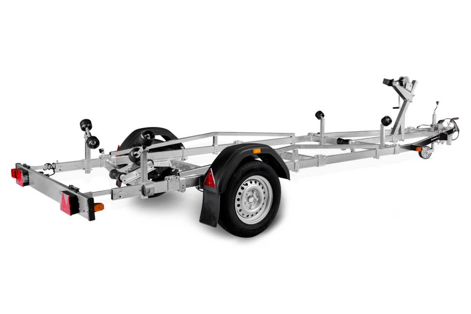 BRENDERUP BASIC 600 Bootstrailer Bootsanhänger für Boote bis 16 Fuß // 4,70 m